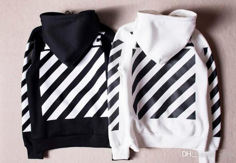 Hot Sales Off White Hoodies Hommes Femmes De haute qualité Kanye West Off White