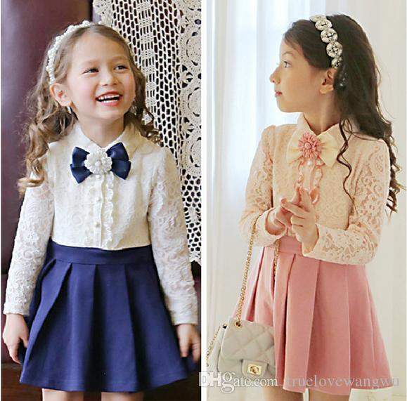 2016 Luxury Baby Clothes New Arrival Cute Kids Girls Lace