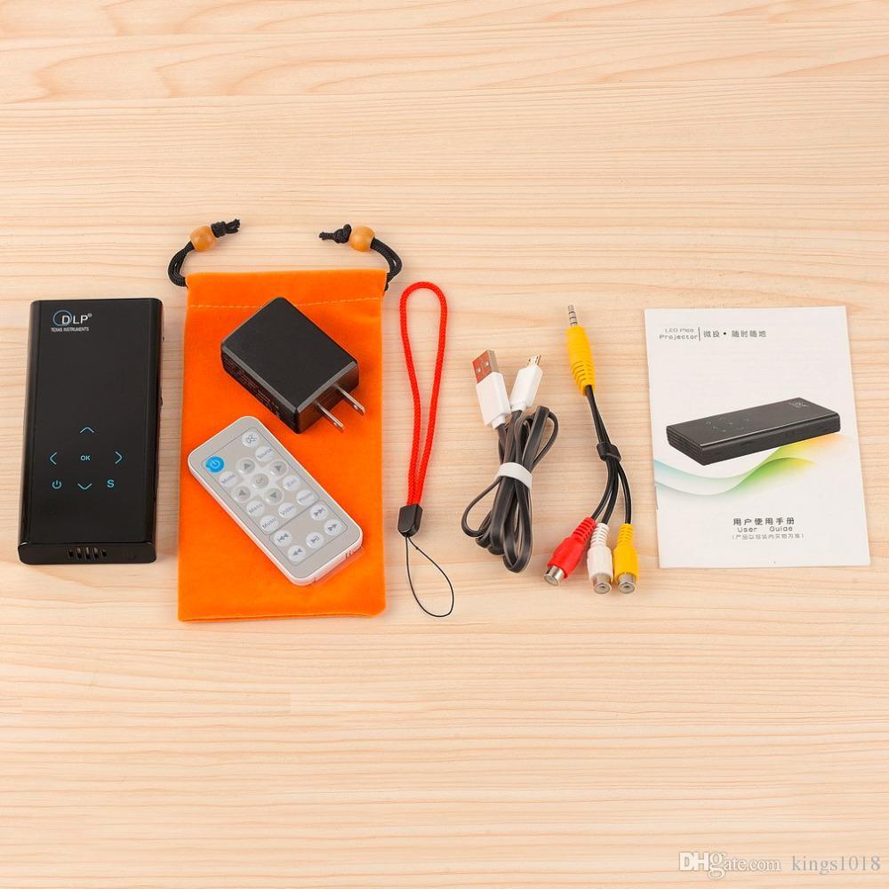 2016 hot sale e06 handheld smart mini projector hd 1080p for 2016 best mini projector