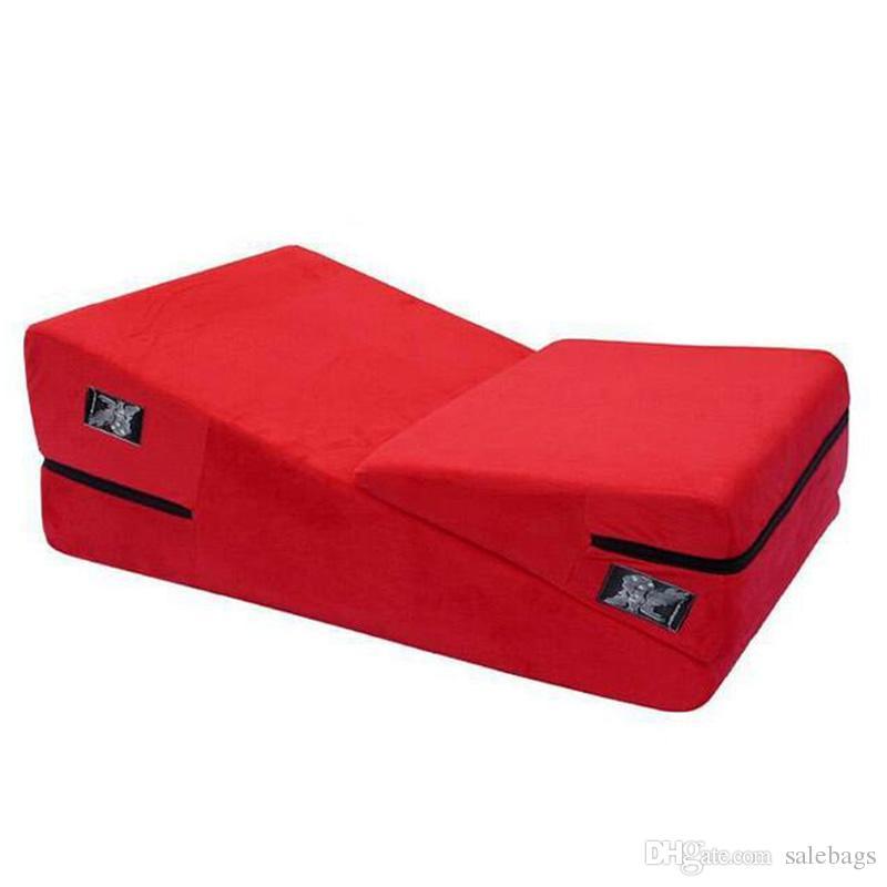 Sex Sofa Triangular Sponge Pad Adult Pillow Cushion Multi