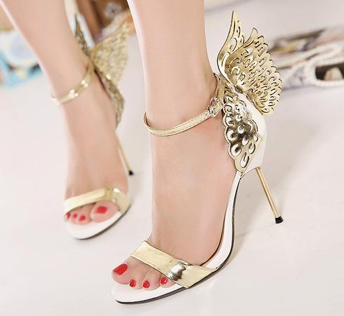 New 2016 sophia webster evangeline angel wing sandal women for Sophia webster wedding shoes