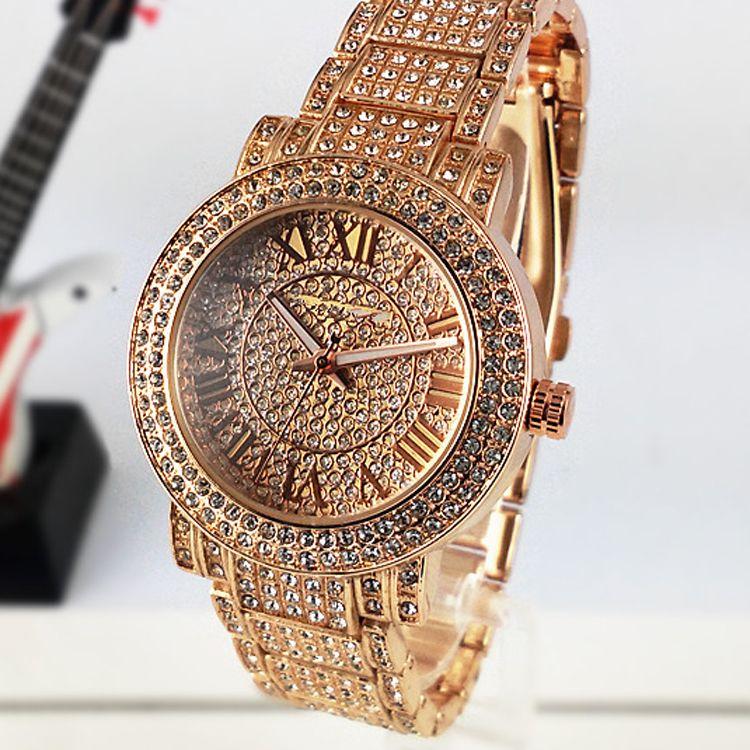 2016 luxury watches women watch m brand diamonds dial band
