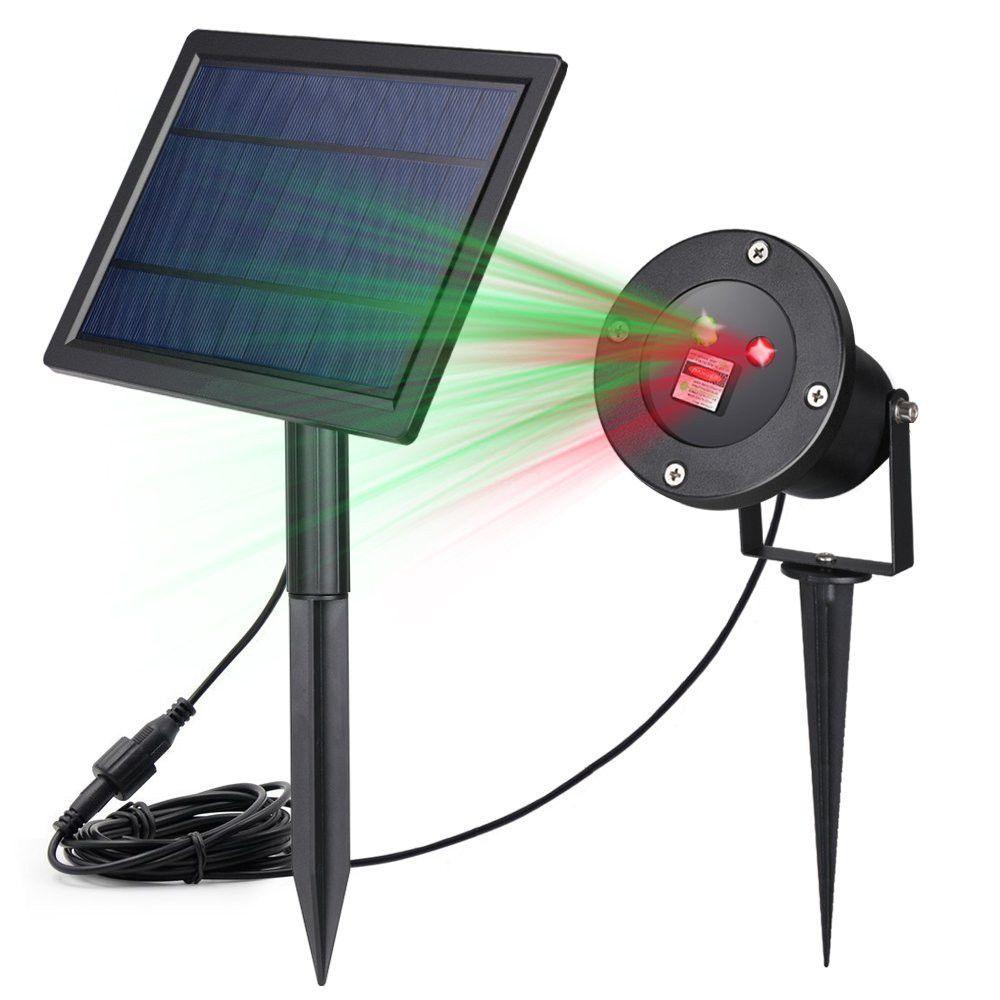 2017 Solar Star Projector Outdoor Star Laser Light Solar ...