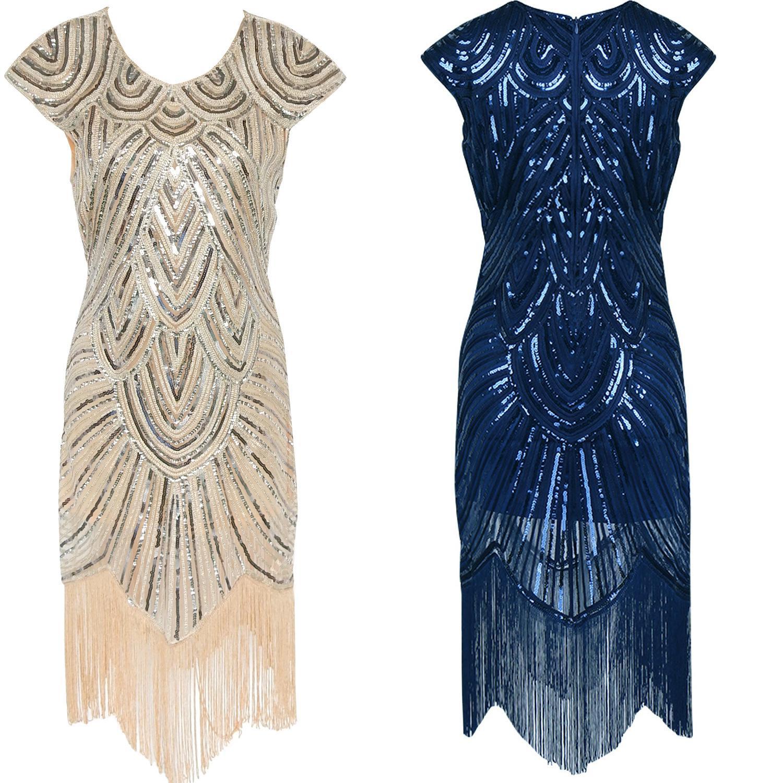 1920s maxi dress