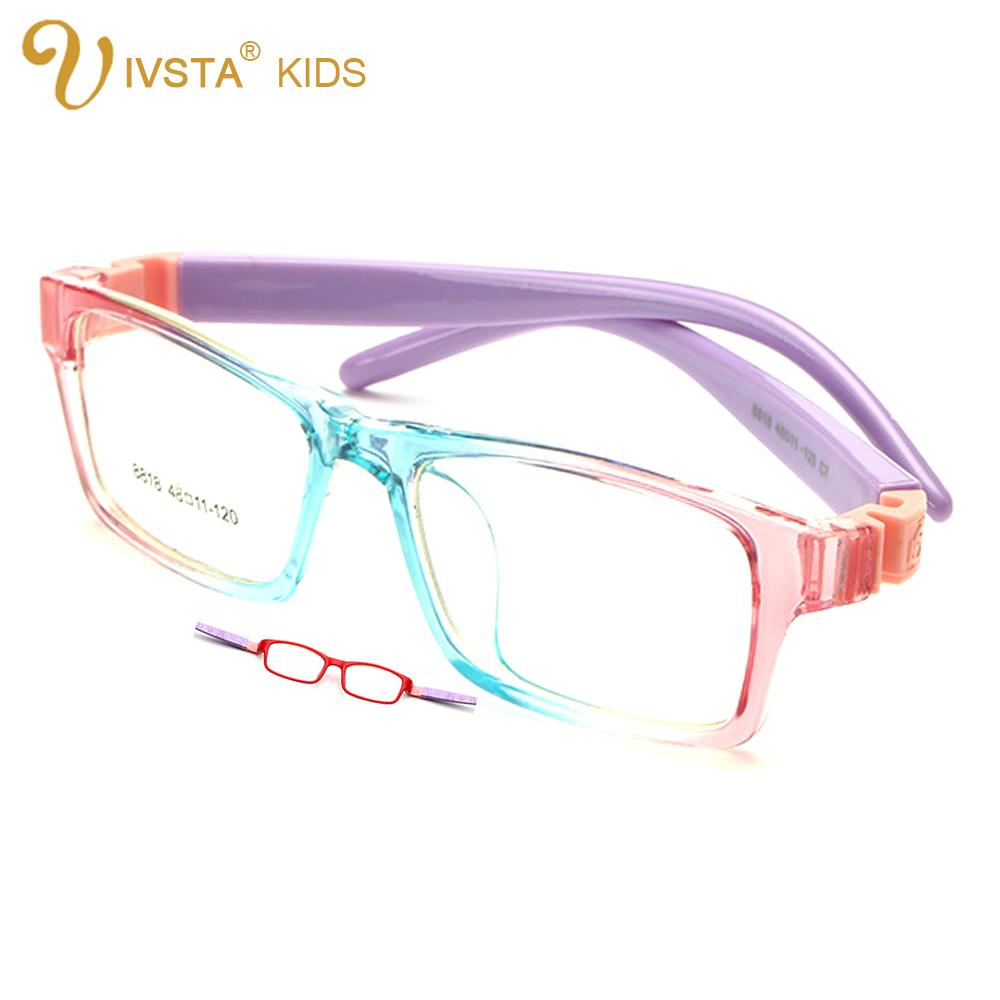 2017 Ivsta 06 48 11 No Screw Eyeglasses Kids Unbreakable ...