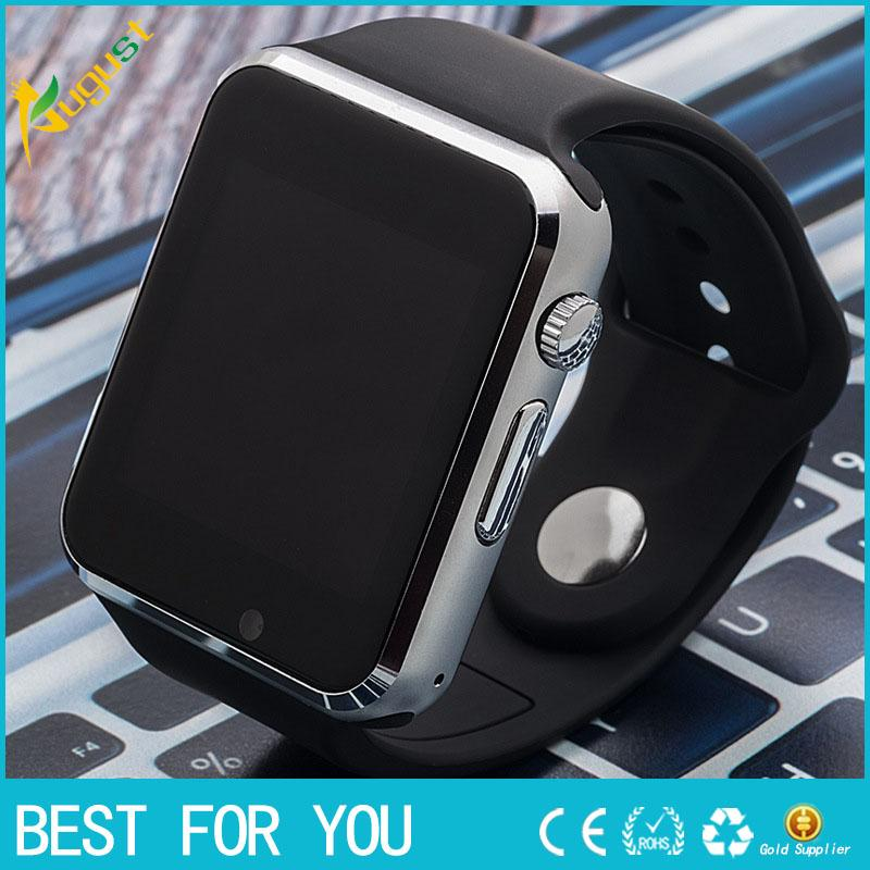 2016 Smart Watch A1 W8 Avec Sim Card Camera Bluetooth Smartwatch Pour Android I
