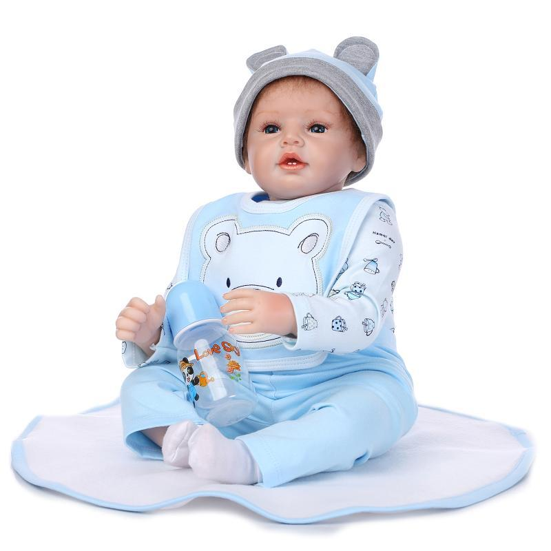Super Realistic Fake Babies Hot Sale Soft Silicone