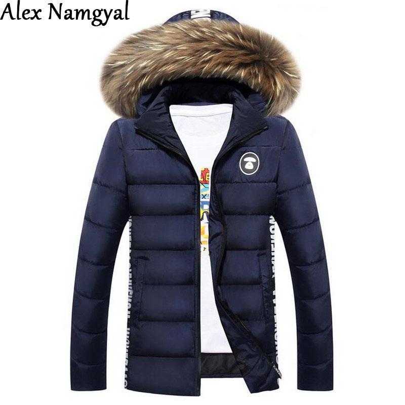 Alexnamgyal 2016 Men&39S Jacket Mens Brand Designer Warm Down Cotton