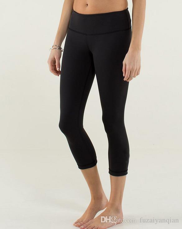 Online Cheap Nwt Women Black Wunder Unders Yoga Crops Yoga Pants ...