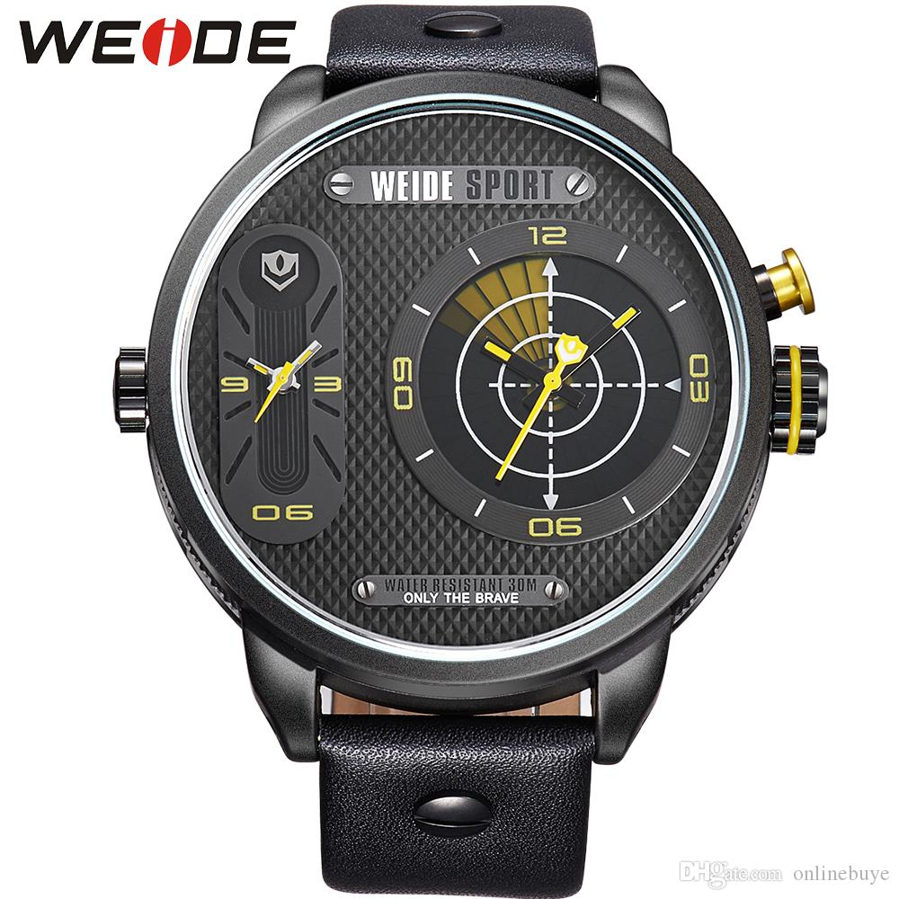 weide quartz watch men luxury brand leather strap waterproof weide quartz watch men luxury brand leather strap waterproof new design relogio masculino watches wrist