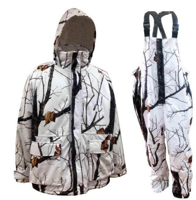 2017 new arrival realtree ap snow camo hunting jacket bibs for Ice fishing bibs sale