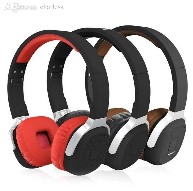 -New Bee Sport Pedometer NFC Foldable Wireless Bluetooth Headset Mic Stereo Headphone Earphones iPhone Samsung Xiaomi