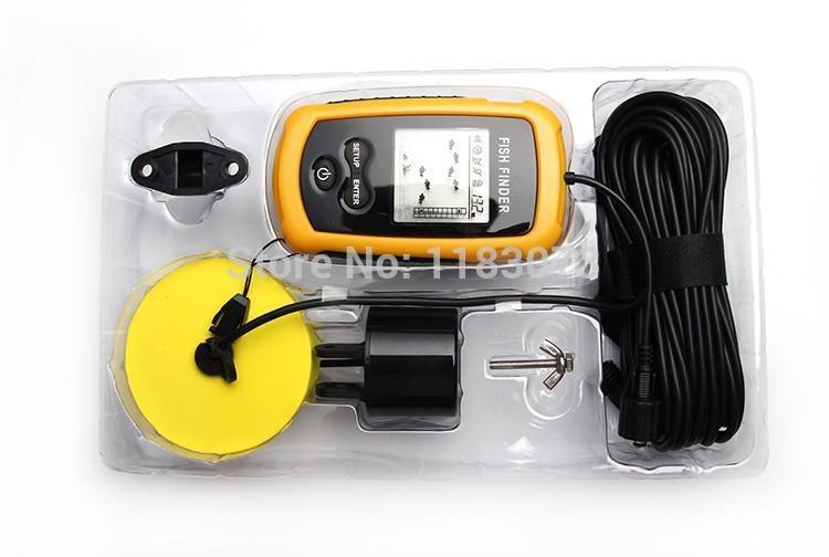 portable fish finder depth sonar sounder alarm transducer, Fish Finder