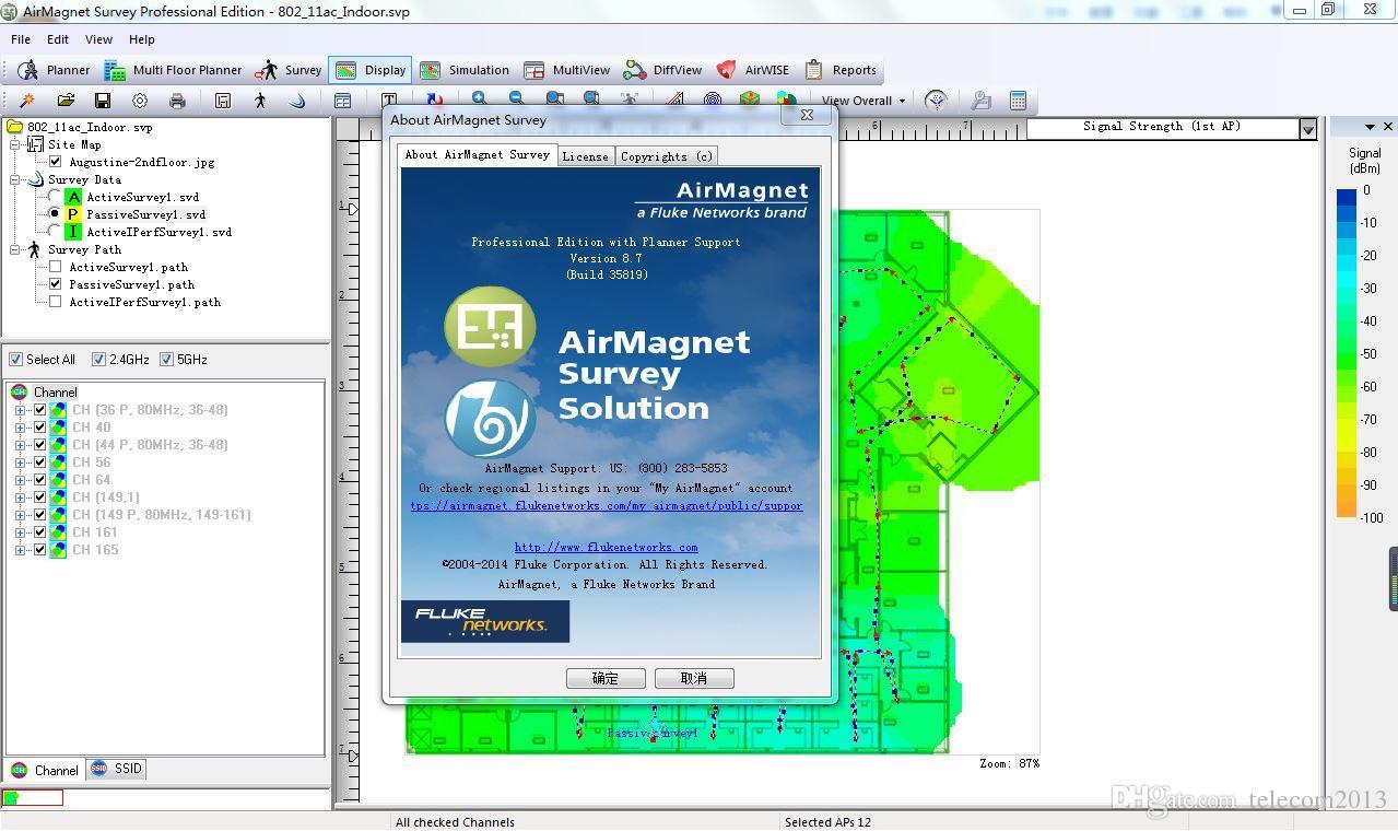 AirMagnet Survey - Fluke Networks