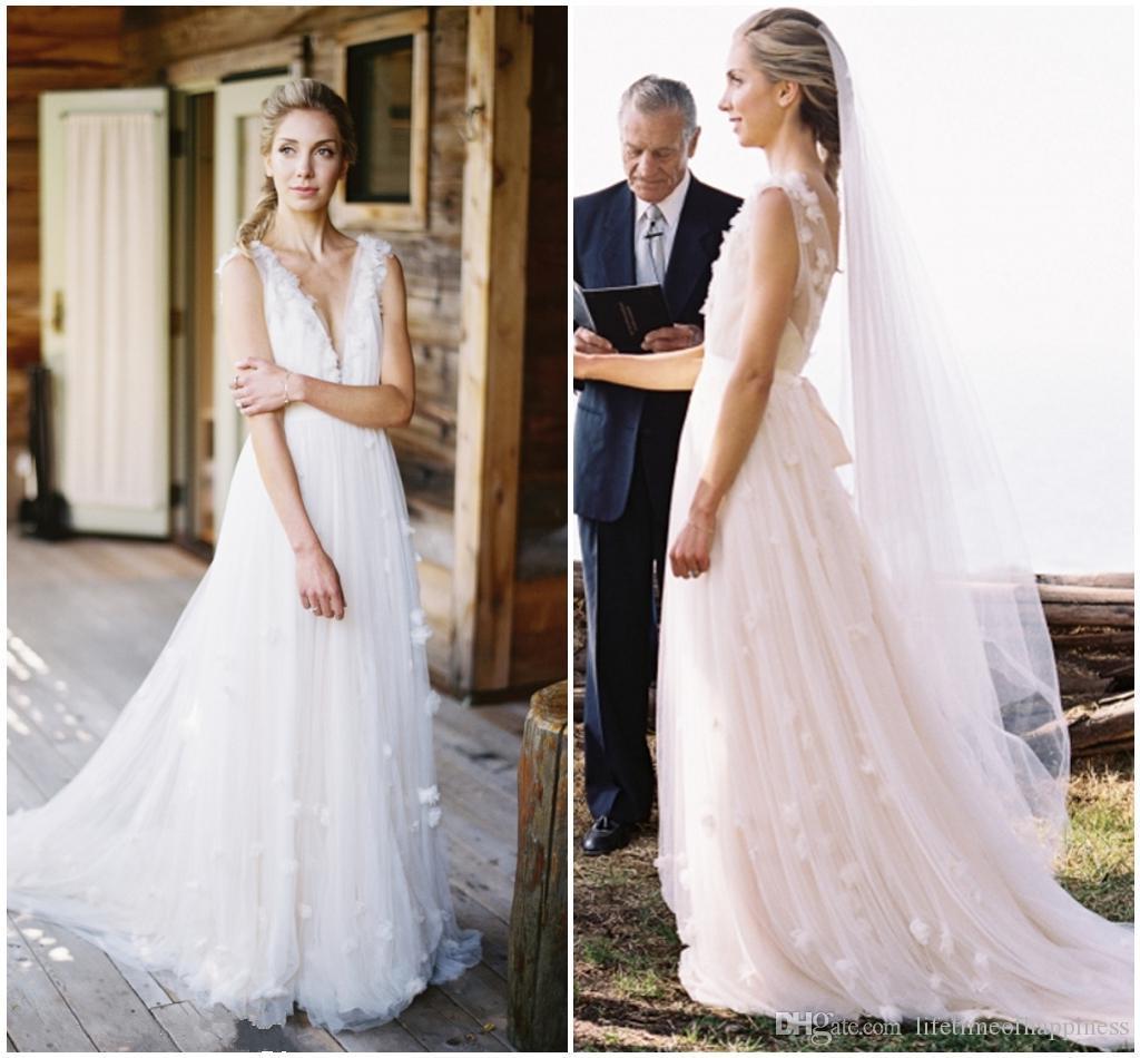 Pink Wedding Dress Dream Meaning : Pink wedding dream deep v neck unbacked gauze beach dress