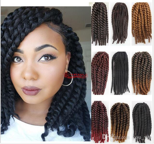 Crochet Hair On White Girl : ... Crochet Havana Twist Braids Girls Hair Extensions White Girl