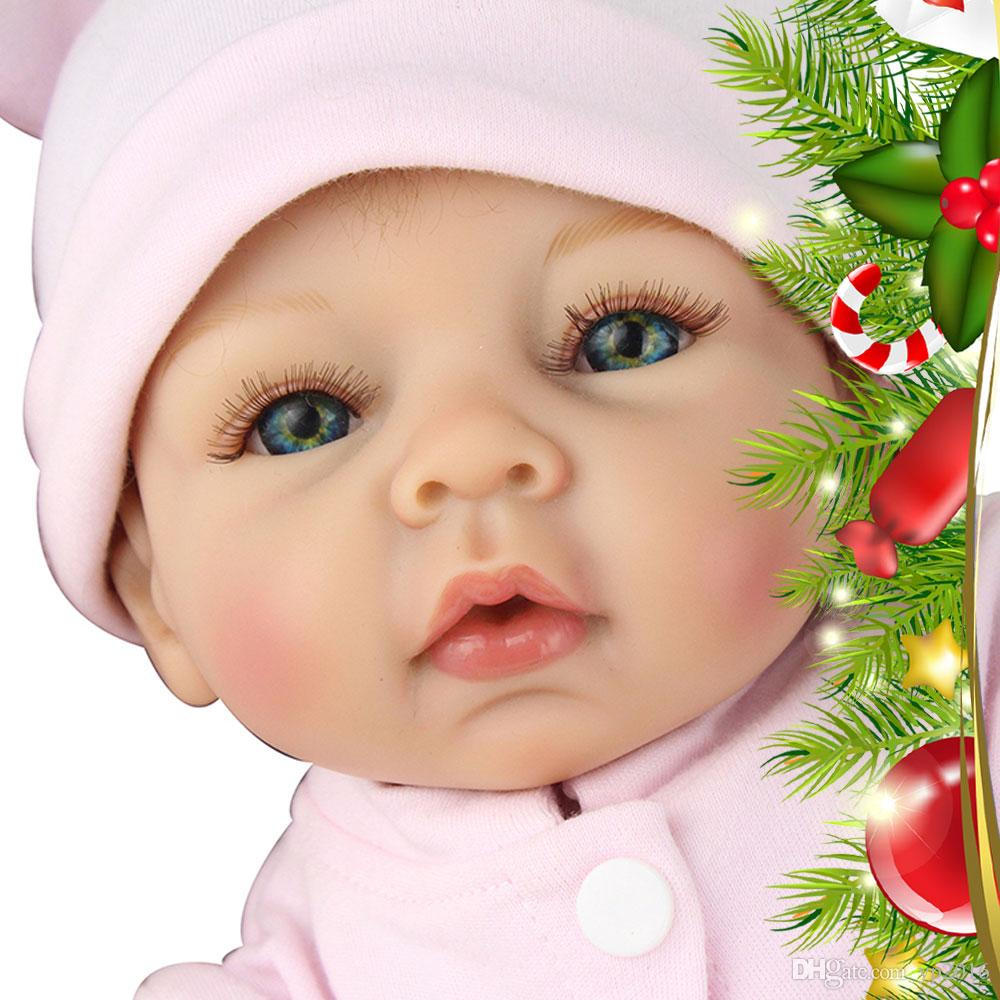Long Eyelash Lovely Realistic Handmade Baby Dolls Girl ...