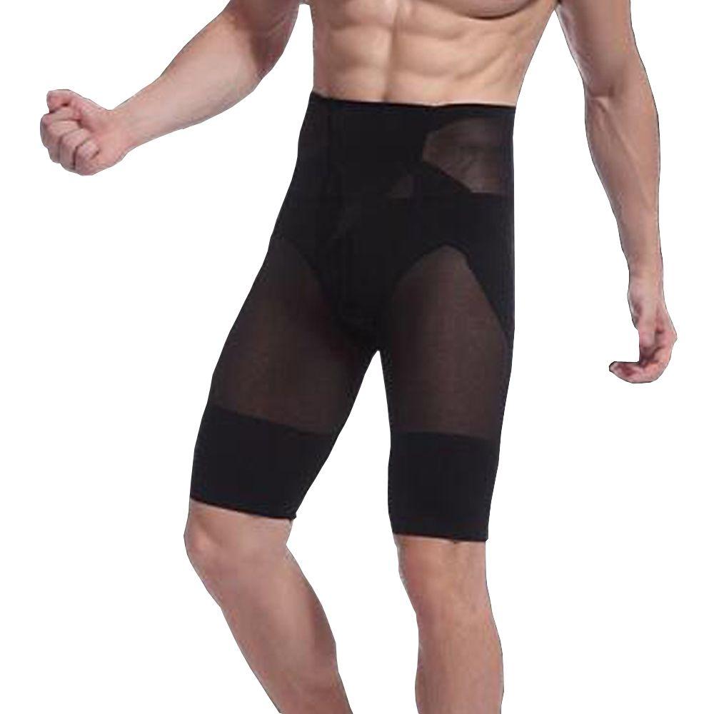 2018 New Hot Mens High Waist Slimming Shorts Body Tummy ...