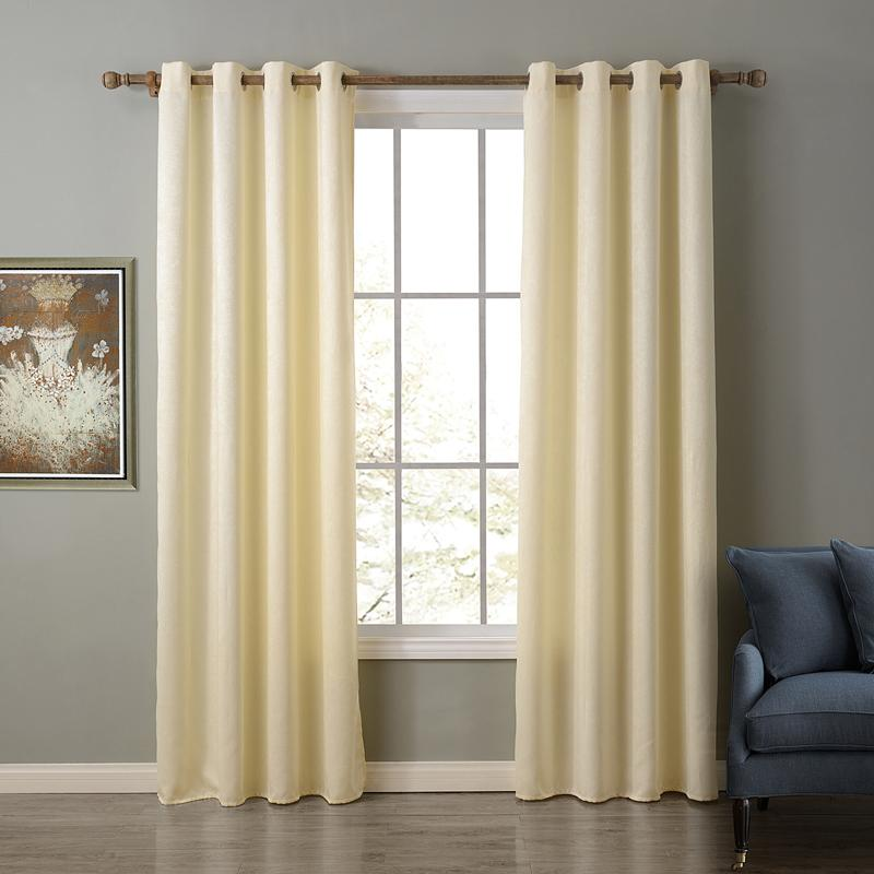 2017 Window Curtain For Living Room Solid Chinese Curtains