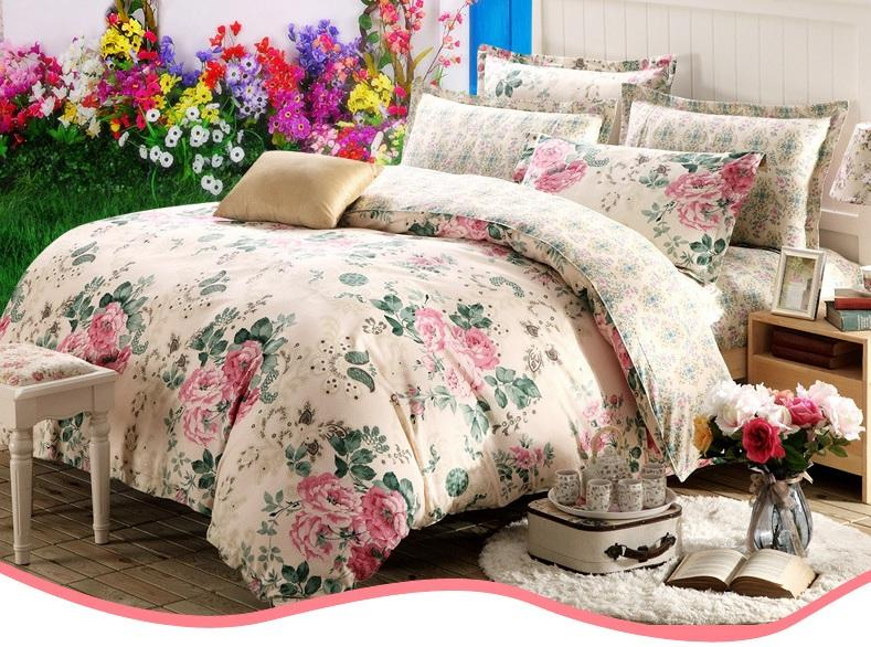 Bedding sets 100 cotton girl room boy room queen size king size full size twin size single size for Full size bedroom sets for adults