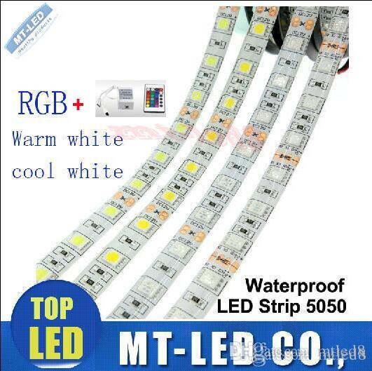 2016 meilleures bandes led 5m / roll Flexible RGB LED Light Strip IP65 SMD5050 5