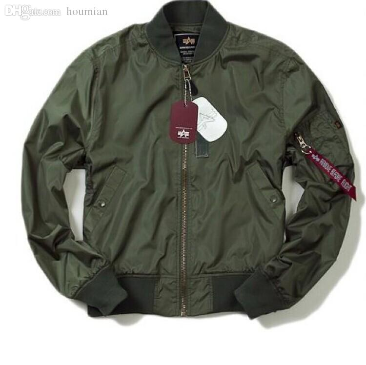 Discount Wholesale Alpha Ma 1 Flight Jackets Lightweight Ground ...