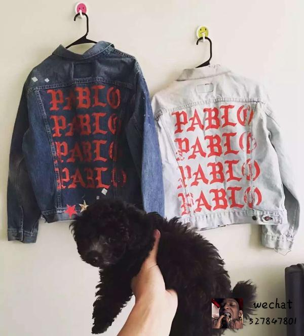 Brand Clothing Blue Jean Jackets Hiphop Kanye West Spring ...