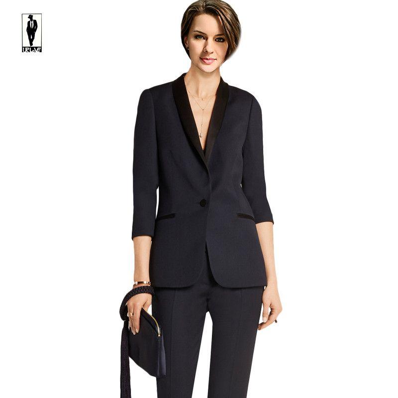 2018 Ur 03 Slim Fit Formal Ladies Office Wear Suit Office ...