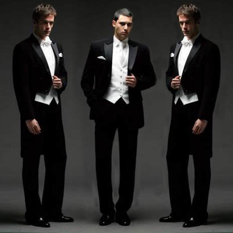 Online Cheap The New Suit Slim Black Tuxedo Suit Men'S Suits Show ...