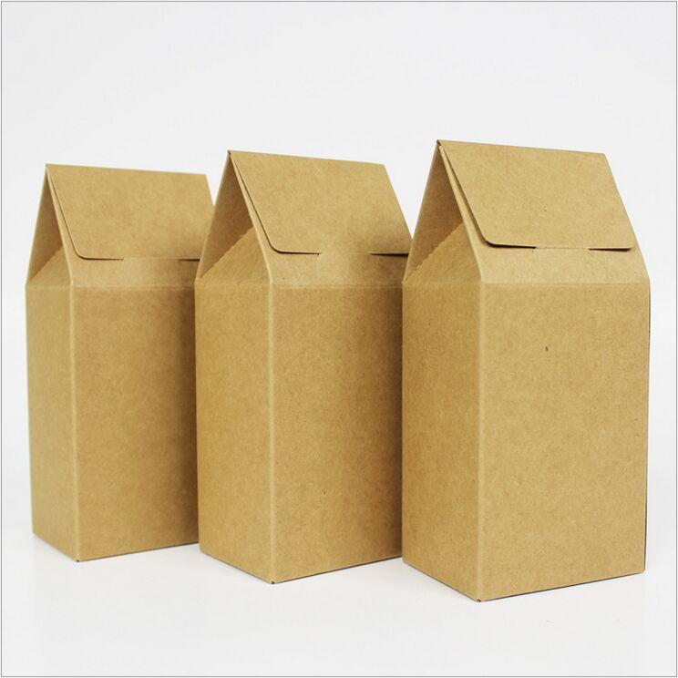 kraft paper boxes The kraft paper box has the nature friendly look due to its inherent kraft color  inside and outside and it is widely used for the retail products packaging, soap.