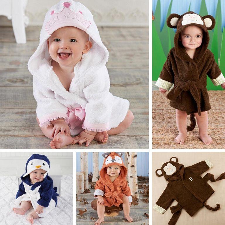 Baby Animal Pajamas Flannel Fox Monkey Penguin Pyjamas Christmas ...