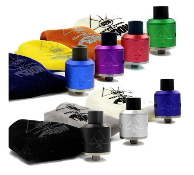 Factory Wholesale High Quality Luxury Stealth Silent: Factory Colourful Goon 528 Rda 24mm/Goon 528 Rda 22mm