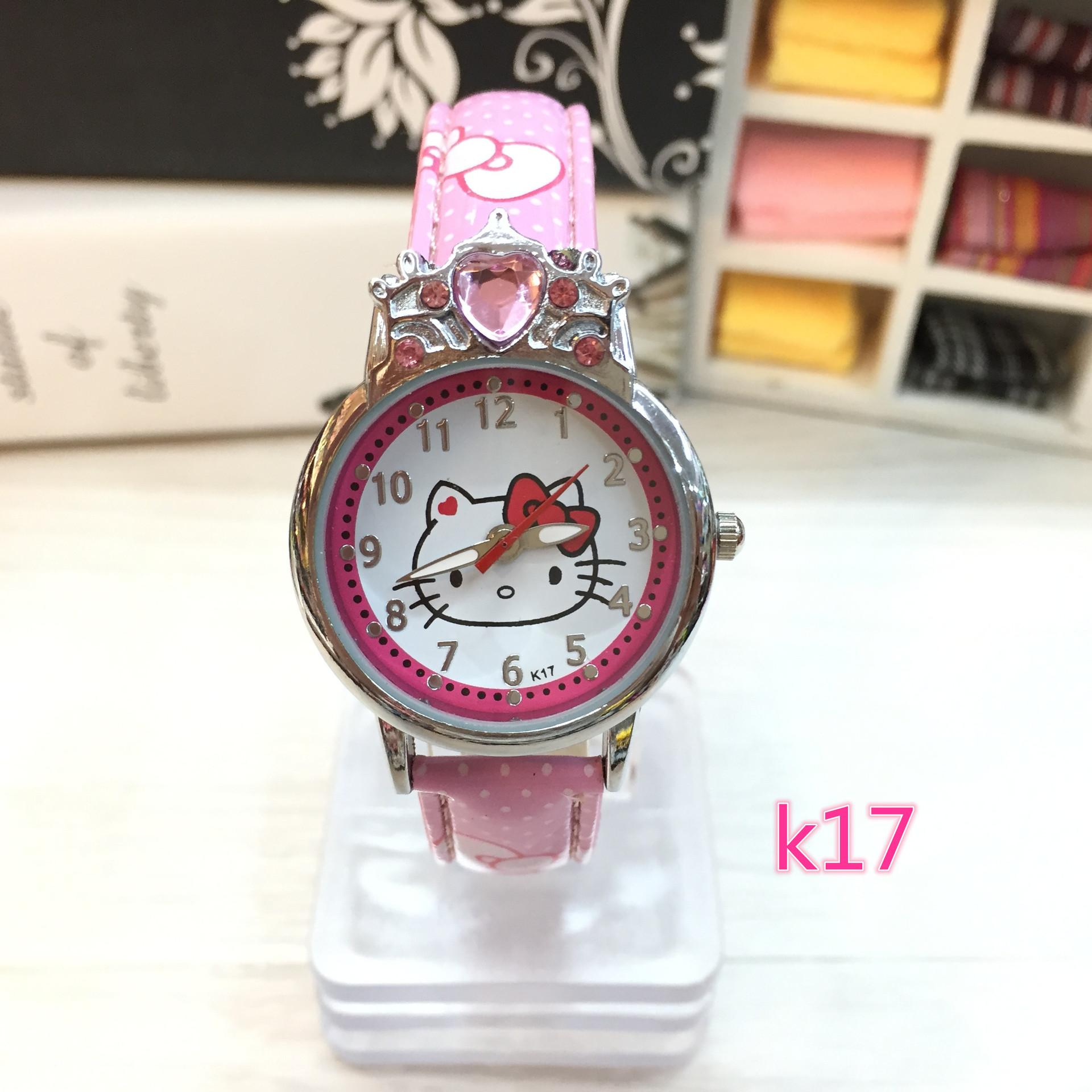 Toy Hello Kitty Watch : New hello kitty watches fashion ladies quart watch