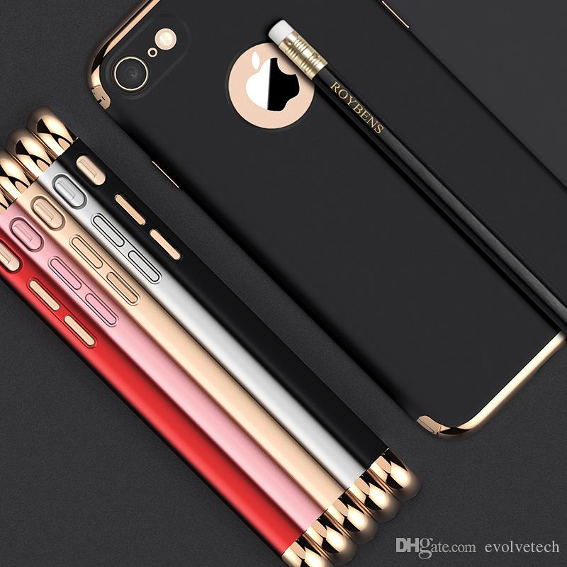 for IPhone 7 Plus Case Luxury Thin Shockproof 3-piece ...