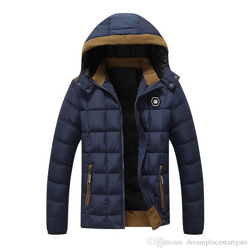 2017 New Brand Mens Winter Jackets And Coats Thicken Warm Jacket