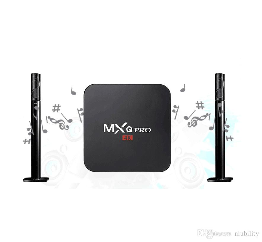1G / 8G MXQ S905 Pro Android TV BoxDigital TV Streaming Box Quad Core Android Fu