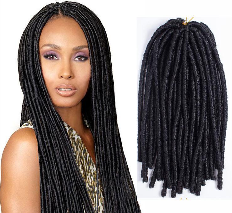 Crochet Braids Boston : ... Hair 3pcs Soft Dre Lock Extension Bulk Afro Curly Kanekalon Braiding