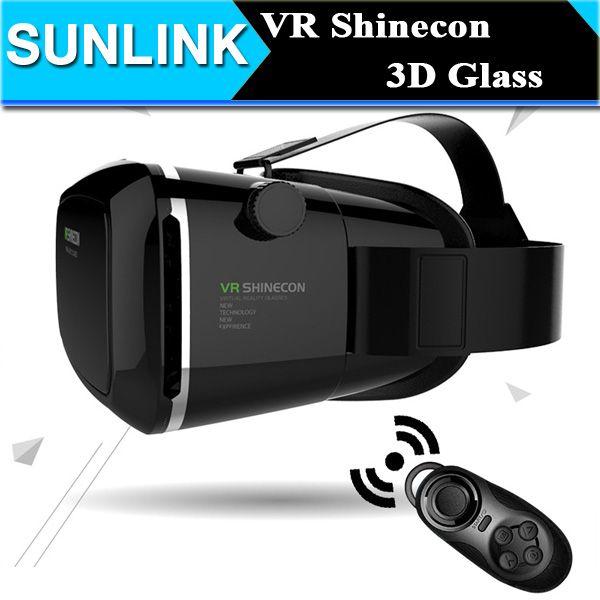 vr shinecon virtual reality 3d glasses google cardboard headset oculus rift head mount vr box 2. Black Bedroom Furniture Sets. Home Design Ideas