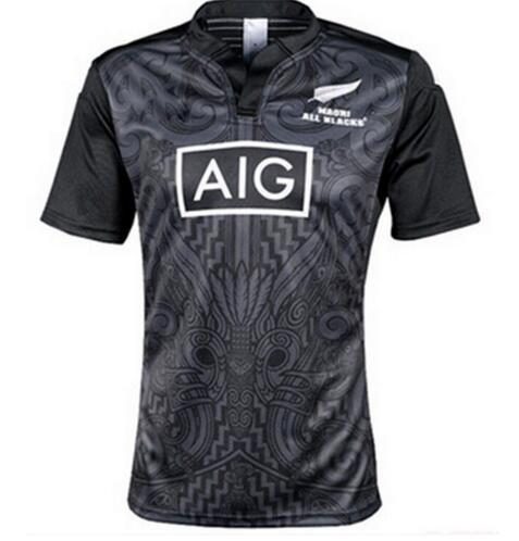 2016 All Black Jersey Rugby New Zealand vêtements Super jersey Rugby Stormers Bu