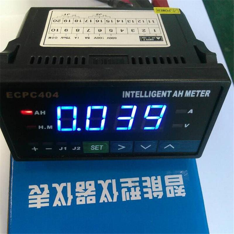 Amp Hour Meter : Intelligent amp hour meters top quality blue digital lcd
