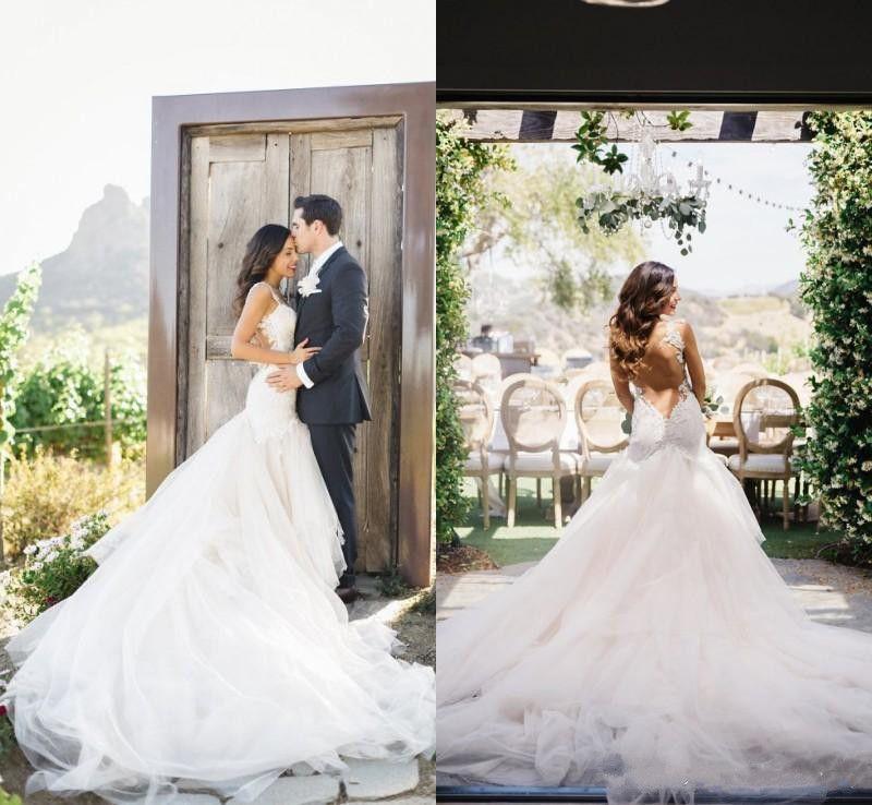 2017 country stunning winter mermaid wedding dresses for Winter mermaid wedding dresses