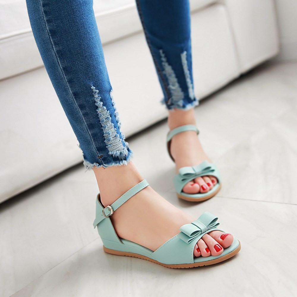 Girls sandals - Female Summer Sandals Young Girl Big Boy Shoes Female Child Flat Maternity Women S Shoes Flat Heel