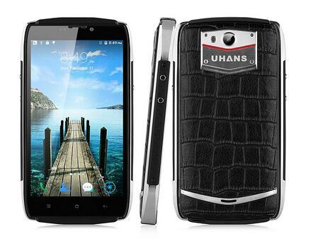 Cellphone smart phone 5.0inch Uhans U200 Android 5.1 4G 64bit MTK6735 Quad Core 2GB+16GB 13.0MP 3500mAh