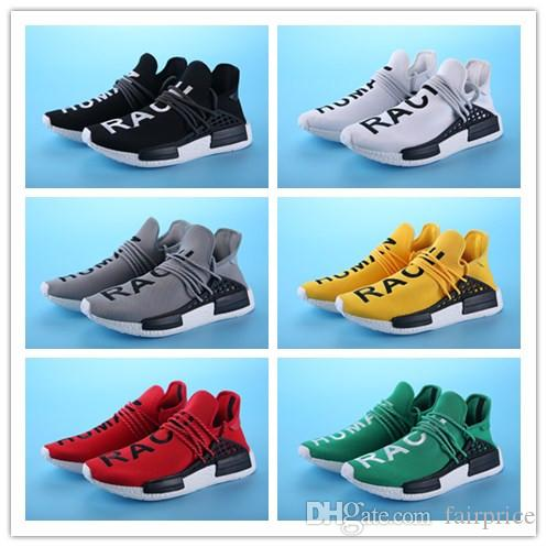 Shoes Cheap HumanRace Trainers Sneaker With Boxes Nmd Human Race Shoes
