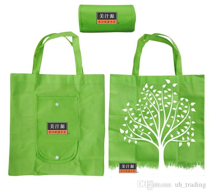 Customize Reusable Folding Shopping Bags, Foldable Reusable ...