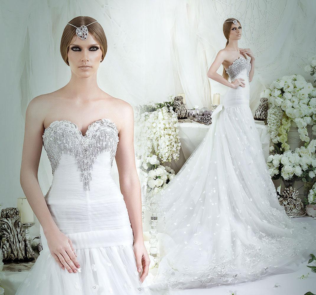 Pleats tulle mermaid wedding dresses 2016 dar sara bridal for Dhgate wedding dresses 2016