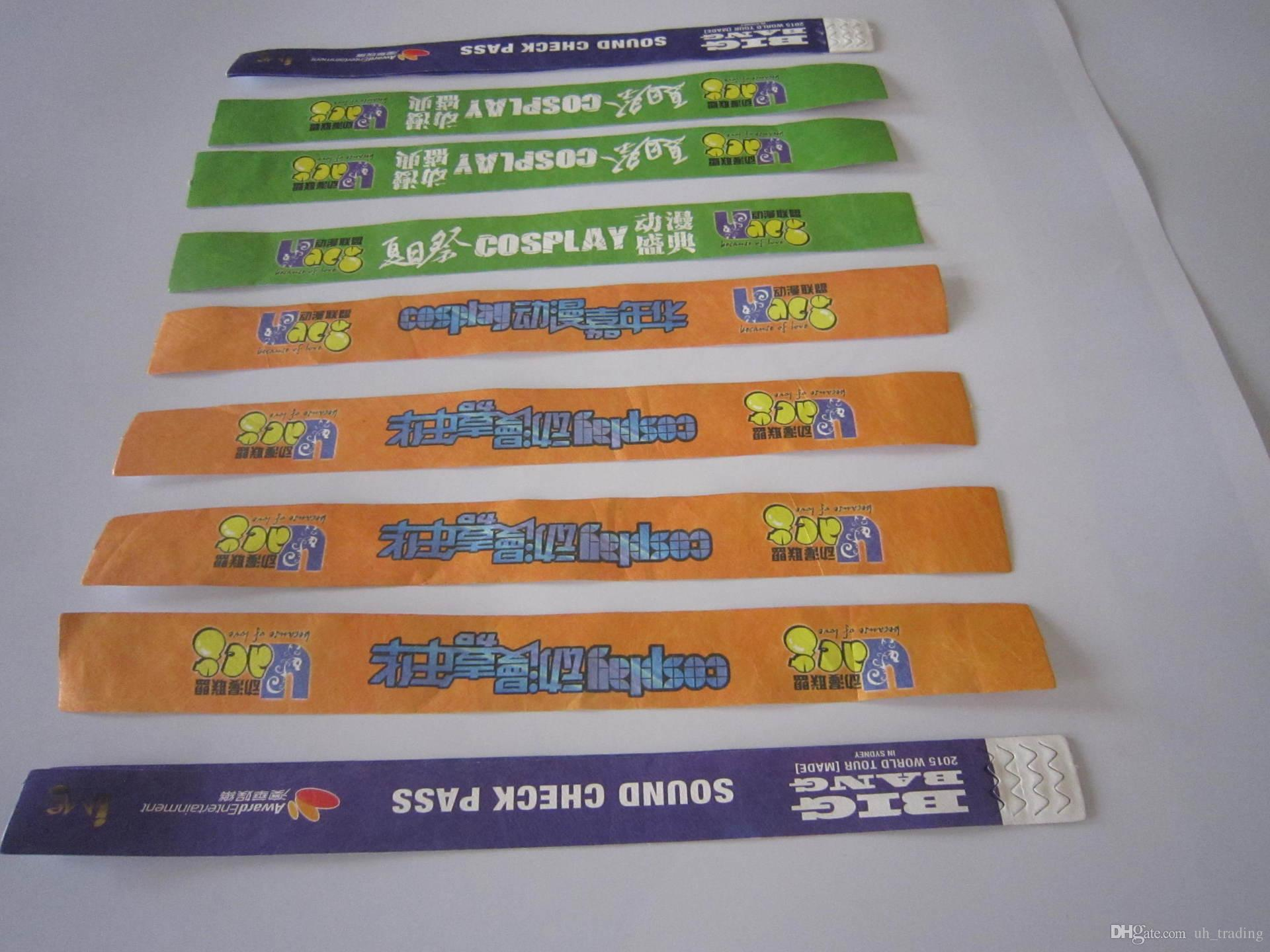 paper wristband Uline stocks a huge selection of paper wristbands, paper wrist bands and event wrist bands order by 6 pm for same day shipping over 34,000 products in stock 11 locations across usa.