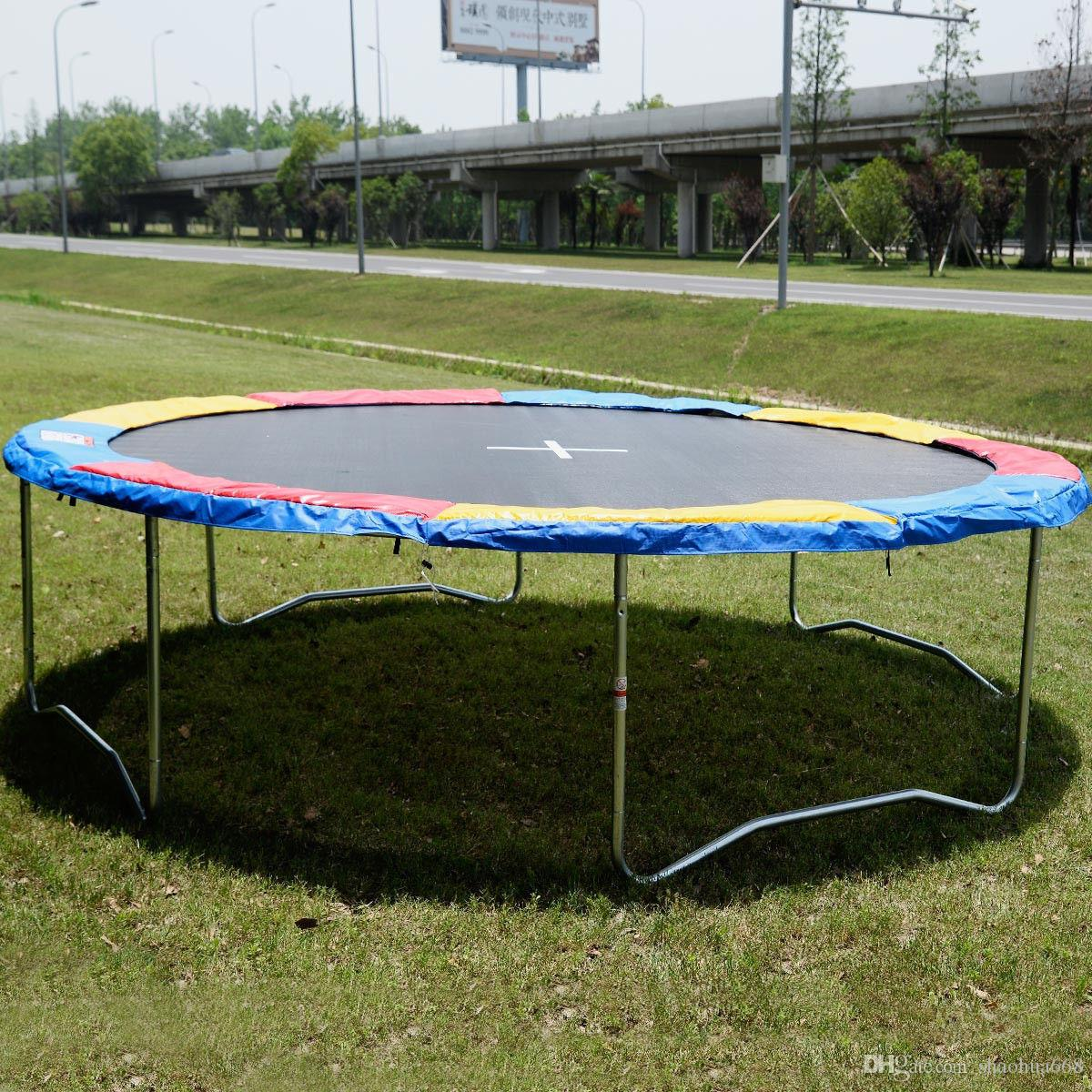 14 Ft Trampoline Safety Pad Epe Foam Spring Cover Frame: Discount Multi Color 15 Ft Trampoline Safety Pad Epe Foam