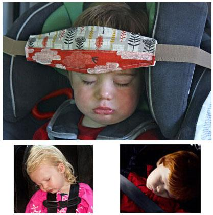 15m59 baby car seat headrest sleeping head support pad pillow for kids