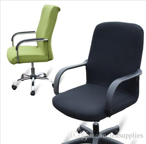Large Size Office Chair Computer Side Zipper Blanket Cover Design